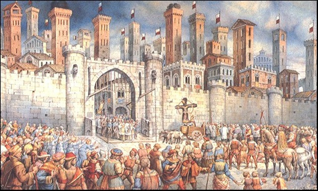 The Holy Cross Procession in the past and in the present