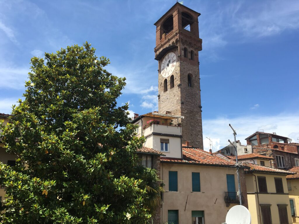 Torre delle Ore in Lucca Tuscany